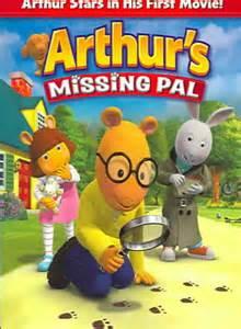 Arthur Missing PAL DVD