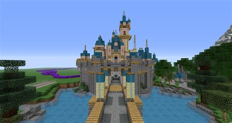 Disneyland in Minecraft [11]  Minecraft architecture and