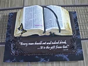 Bible Book Cake