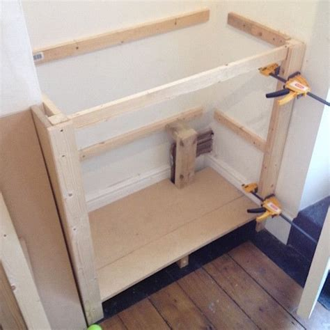 Building Cupboards by Building A Alcove Cupboard Part 1 Diy Alcove