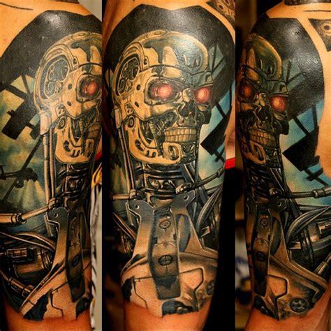 terminator tattoo  shoulder  tattoo ideas gallery