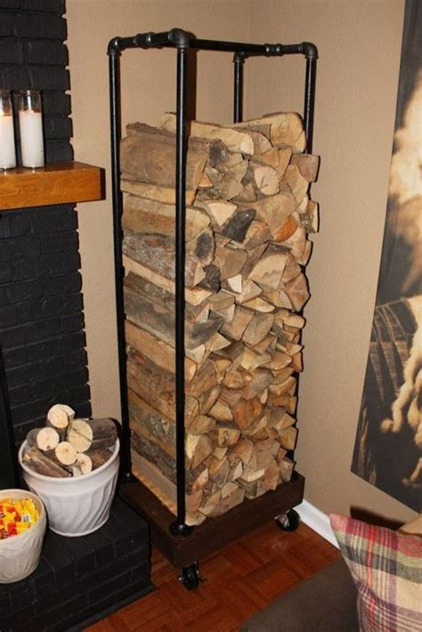 fireplace wood holder firewood storage ideas the owner builder network