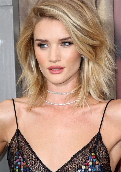 medium haircuts for faces and thin hair image result for rosie huntington whiteley hair 2976