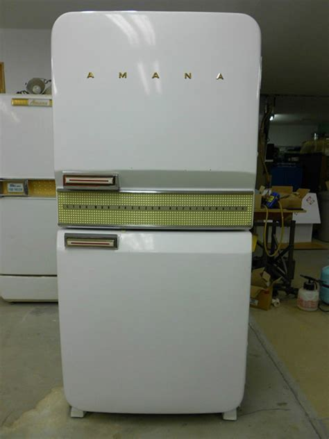 Vintage refrigerator    1956 Amana Stor More    never used!
