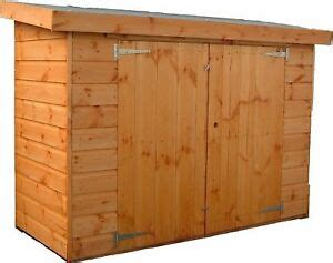 ft  ft  glory box tool shed wooden balcony store pent