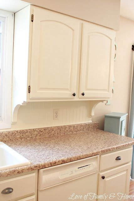Adding Beadboard & Corbels Underneath The Kitchen Cabinets