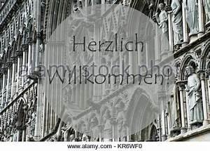 Herzlich Willkommen Willkommen Traditionelle Deutsche