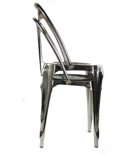 chaise métal industriel chaise style industriel wadiga com