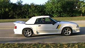 88 Mustang GT Vert Take Off 5.0 - YouTube