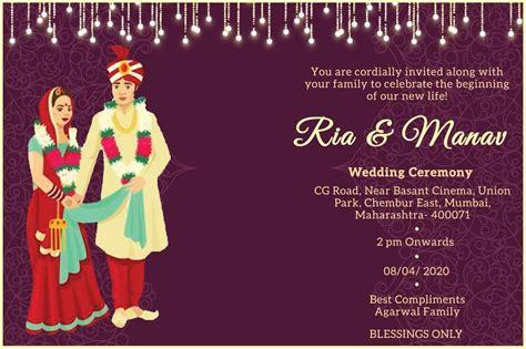 30+ Royal Indian Wedding Invitation Cards (Free Customization)