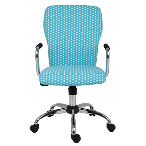 grace blue polka dot chair with arms everything turquoise