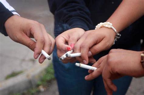 Tabaquismo crece entre los adolescentes Desde el Balcon
