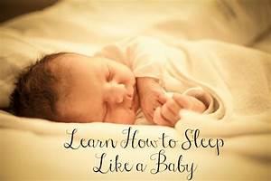 5 Ways to Sleep Like a Baby