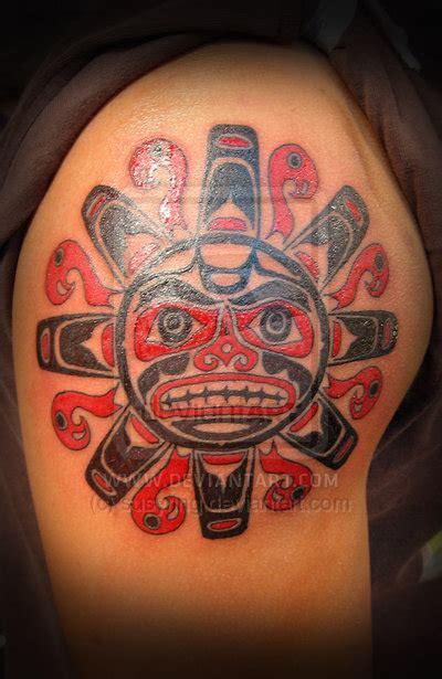 tattoo designs aztec sun tattoos