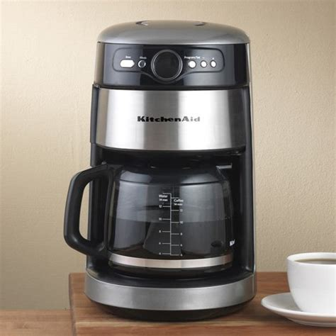 Kitchenaid 14cup Glass Coffee Maker Silver Wwwcafibocom