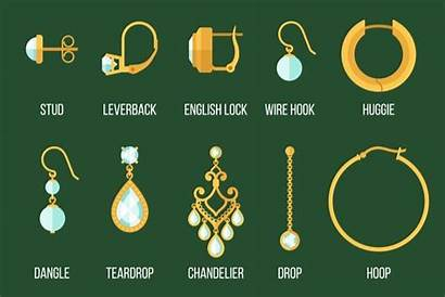 Earring Types Earrings Different Jewelry Clasps Styles