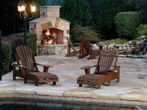 Outdoor Decks With Fireplaces Ideas — Bistrodre Porch And