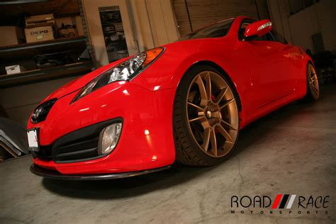 Hyundai Genesis 2 0t Performance Parts by 2010 2012 Hyundai Genesis Coupe 2 0t Road Race