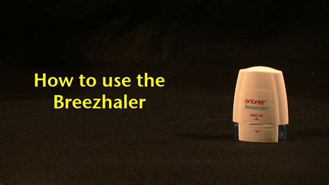 How To Use The Breezhaler Youtube