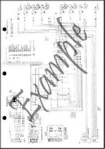Ford Mustang Mercury Capri Wiring Diagram Foldout