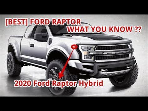 ford raptor hybrid youtube