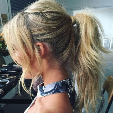 prettiest hairstyles   ideal  hot weather