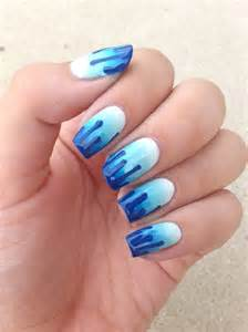 Nails by bayles august challenge ombre nail art