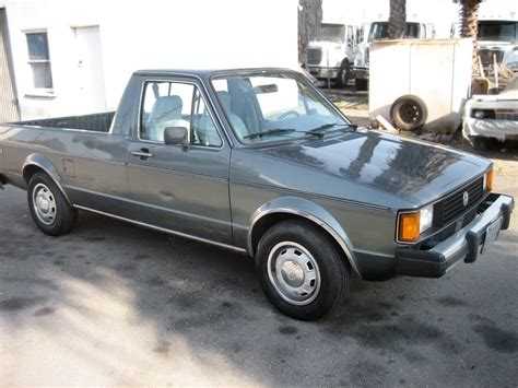 rabbit volkswagen diesel power 1981 volkswagen rabbit pickup lx