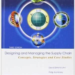 Designing And Managing The Supply Chain Solutions Manual