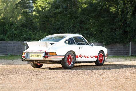 Porche 911 Rs by 1973 Porsche 911 Rs 2 7 Lightweight