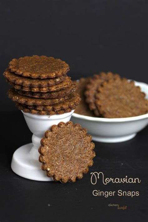 moravian ginger snap cookies pint sized baker