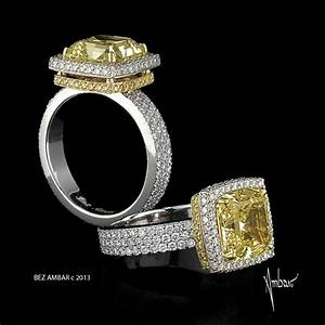 fancy yellow diamond engagement rosa ring With fancy diamond wedding rings