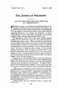 free philosophy papers