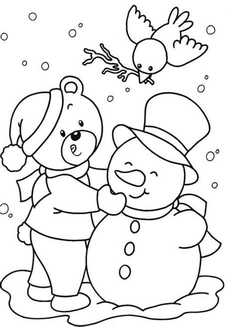 winter drawing  kids  getdrawings