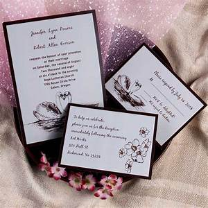 wedding litoon wedding invitations With affordable 3 in 1 wedding invitations