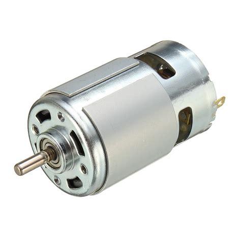 Dc Motor by 775 Dc Motor Dc 12v 36v 3500 9000 Rpm Bearing Large