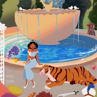 Debbie Balboa Disney Whole Aladdin Sketch Crystal