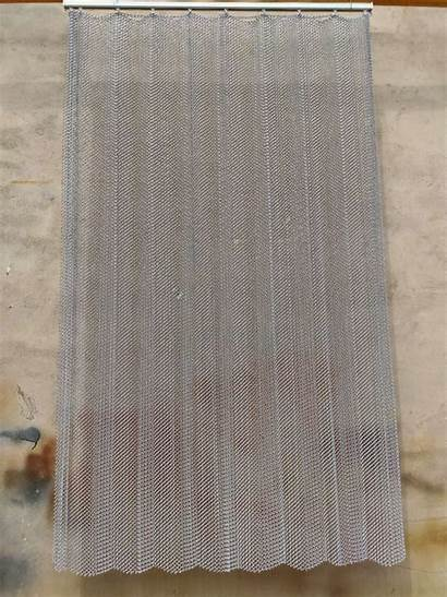 Curtain Metal Coil Drapery Track Silver
