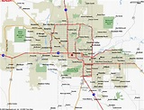 Map of Phoenix AZ