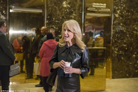 Trump's former campaign manager Kellyanne Conway is mobbed
