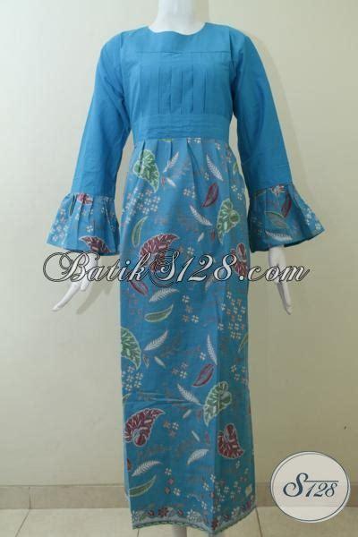 Koleksi Terbaru Toko Online Batik 128, Gamis Batik Keren