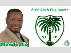 Rtd Brig Julius Maada Bio Is The SLPP 2018 Flag Bearer