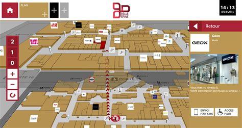 kl 233 233 quipe centre commercial epine de meubles interactifs d orientation avec le