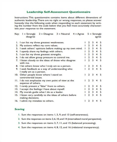 assessment examples samples