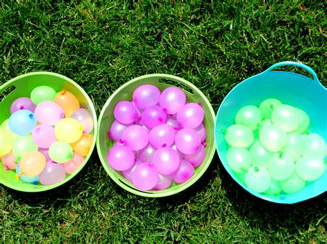 idea  water balloon battle kids  parents