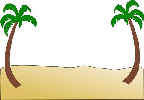Sand Free Beach Border Clip Art
