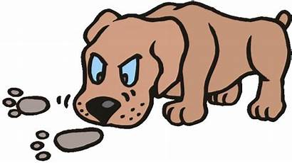 Clipart Bloodhound Dog Scent Smell Tracking Better