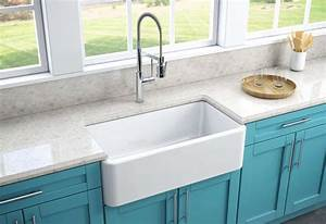 fireclay kitchen sinks a 3 minute guide o the kitchen With 30in farmhouse sink
