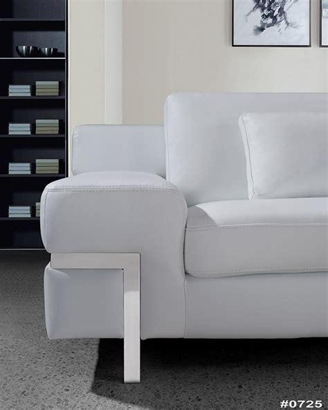 white leather sofa set clef modern white leather sofa set