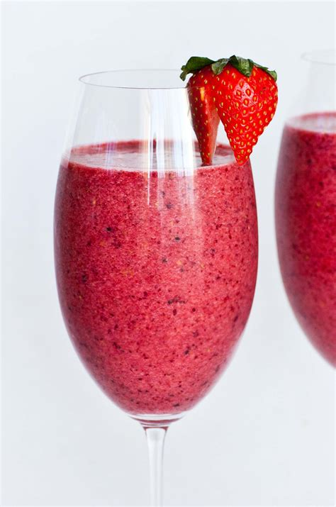 fresh fruit smoothie tatyanas everyday food